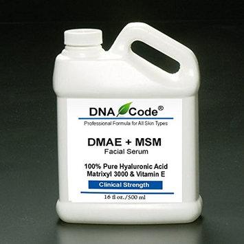 DNA Code-Professional DMAE+MSM Firming Serum,100% Pure Hyaluronic Acid +Matrixyl 3000