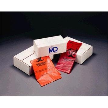 Medegen Medical MAI 8-703 25 x 35 in. Autoclave Decontamination Bag Orange - 200 per Case