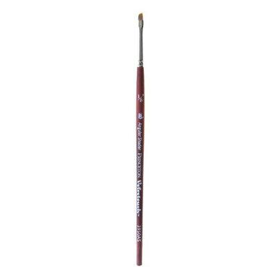 Princeton Art & Brush Velvetouch Mixed Media Brushes 012, angular shader [pack of 3]