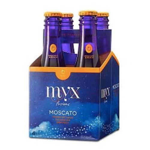 Myx Moscato & Peach Wine, 4 pack, 187 mL