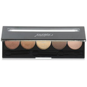 Purely Pro Cosmetics 5 Well Eyeshadow Pallet, Stars in Your Eyes, 0.02 Ounce
