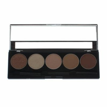 Purely Pro Cosmetics 5 Well Eyeshadow Pallet, Pinch Me, 0.02 Ounce