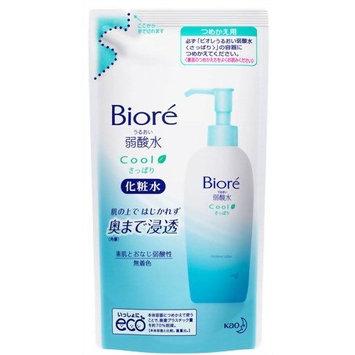 Biore URUOI JYAKU-SANSUI SAPPARI acescence-water toner - Refill 180ml (Japan Import)