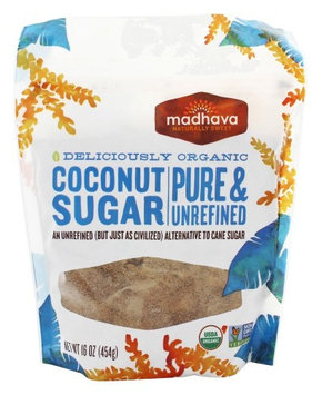 Madhava - Organic Coconut Sugar Coconut Nectar - 16 oz(pack of 4)