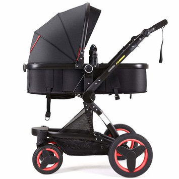Cynebaby Stroller Bassinet Reversible Pram Strollers Infant All Terrian Baby Carriage City Select Vista Toddler Pushchair for Girl n Boy add Net Cover