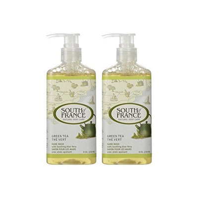 South Of France Liquid Hand Soap Green Tea 8 Oz (Pack of 2)