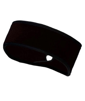 TrailHeads Goodbye Girl Ponytail Headband - black/ black