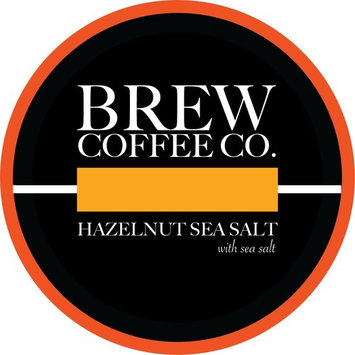 Brew Coffee Co - Keurig K-Cups for Single Serving Coffee Cups - Hazelnut Sea Salt [Hazelnut Sea Salt]