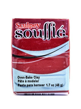 Sculpey Souffl? Oven-Bake Clay cherry pie, 1.7 oz. [pack of 10]
