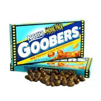 Goobers, Movie size, 3.5 oz box, 18 count