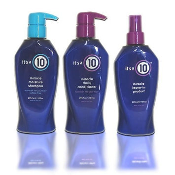 It's a 10 Miracle Shampoo + Conditioner + Leave in