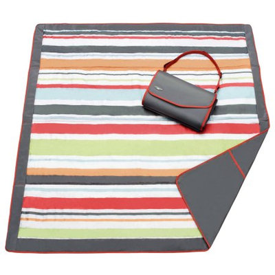JJ Cole Outdoor Blanket - Gray/Red - 1 ct.