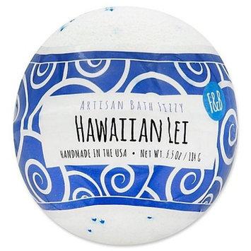 Fizz and Bubble Artisan Bath Fizzy in Hawaiian Lei 6.5 oz
