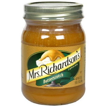 Mrs Richardsons, Topping Butterscotch (Pack of 4)