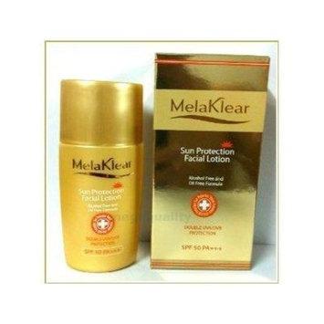 mela k. sun protection facial lotion alcohol free and oil free formula double uva/uvb protection reduce melasma spf 50 pa+++