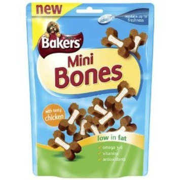 Bakers Mini Bones Chicken 6 X 125G