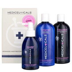 MEDIceuticals Normal Scalp & Hair Kit for Women 3 piece