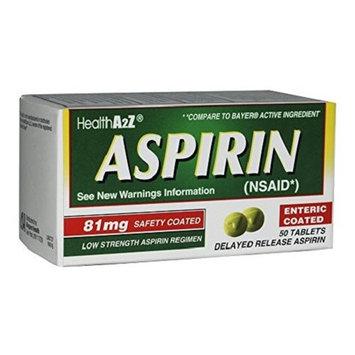 Health A2Z Aspirin Enteric Coated Tablets