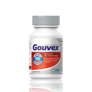 Vitasciences GOUVEX Advanced Uric Acid Formula Supports Healthy Uric Acid Levels & Kidney Function with Tart Cherry, Celery Seed Extract, Turmeric, Quercetin, and more