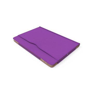 RC iPad Pro 12.9 Case, Executive Smart Folio - Faux Leather Cover for iPad Pro 12.9