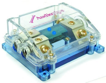 AudioPipe CQ3422PBLUE ANL Fuse Block with LED