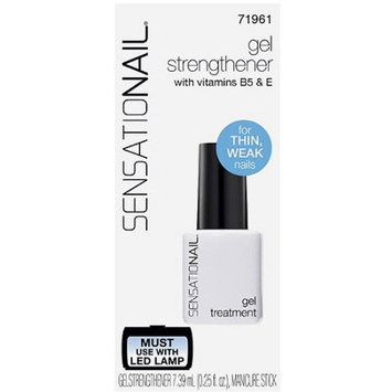 Pacific World SensatioNail Nail Strengthener Gel Treatment, 0.25 fl oz
