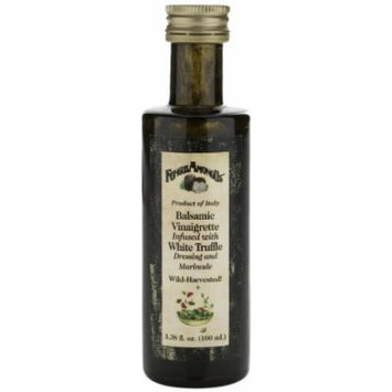 FungusAmongUs Balsamic Vinaigrette Infused with White Truffle, 3.38-Oz. Jars (Pack of 2)