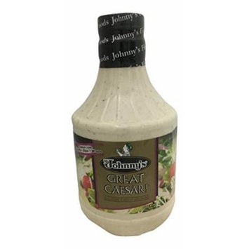 Johnny's Great Caesar Dressing, 32-Ounce (Pack of 3)