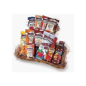LOUISIANA Fish Fry Products Cajun Gift Basket 11 Items