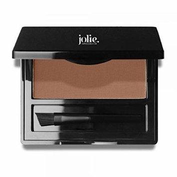 Jolie Brush on Brow Pressed Eye Brow Powder (Auburn)
