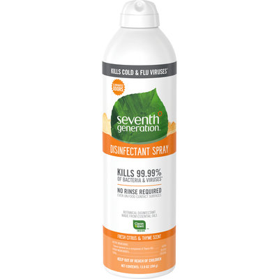 Seventh Generation Fresh Citrus & Thyme Disinfectant Spray