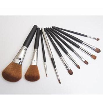 IQ Natural 10pc Professional Makeup Brush Set, Studio Quality, Eco-Friendly, Mineral Makeup Tool Set