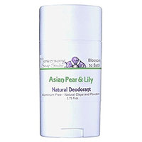 Flowersong Asian Pear & Lily Natural Deodorant - Aluminum Free