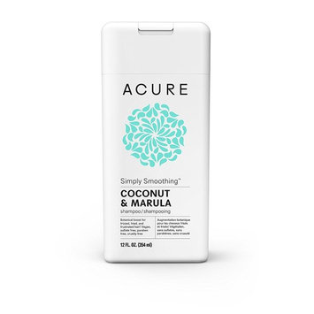 Acure Simply Smoothing Shampoo, Coconut, 12 Fluid Ounces
