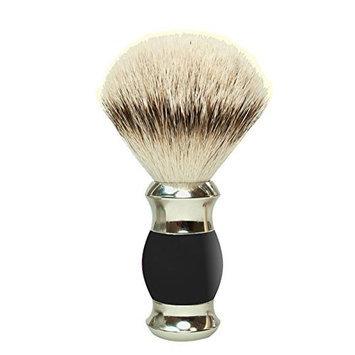 Pfeilring Of America GOLDDACHS Rasierpinsel 100% Silberzupf schwarz silber