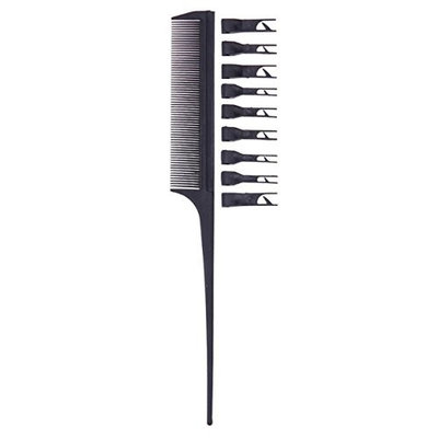 1 Set Combs Hair Brush Hairdressing Double Side Dye Comb Anti Static Drying Tinting Color Styling Tools Combo Pocket Long Round Handle Holder Magnificent Popular Beard Natural Kids Travel Kit