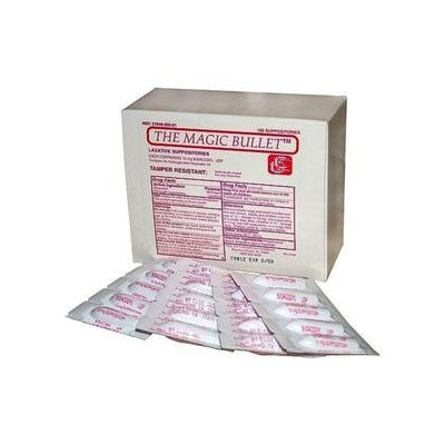 Magic Bullet Suppository 2 Boxes of 100