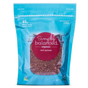 Otis Mcallister, Inc. Organic Red Quinoa 12 oz - Simply Balanced