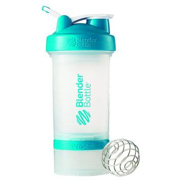 Blenderbottle Blender Bottle ProStak 22 oz. Shaker with Loop Top - Clear/Aqua