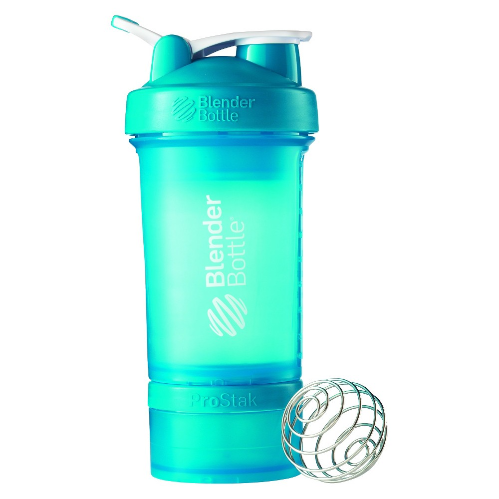Blenderbottle Blender Bottle ProStak 22 oz. Shaker with Loop Top - Aqua