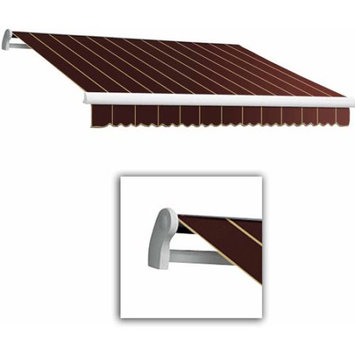 Awntech Corp Maui-LX Right Motor with Remote Retractable Awning, 20 ft.W x 10 ft. Proj
