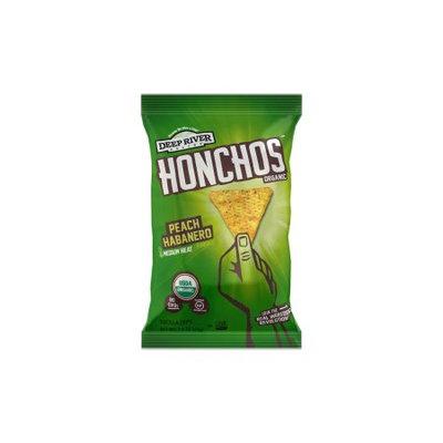 Deep River Snacks HONCHOS™ Peach Habanero Tortilla Chips
