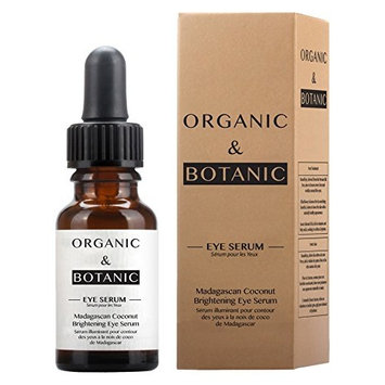 Organic & Botanic Madagascan Coconut Brightening Eye Serum, 72 Gram [Brightening Eye Serum]