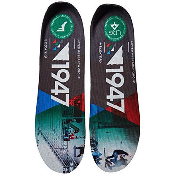 Footprint Insole Technology Kingfoam Flat Insoles Stripes Graphic, 13/13.5
