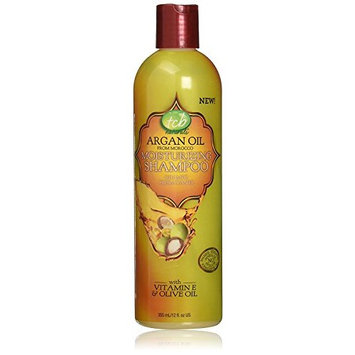 TCB Naturals Argan Oil Moisturizing Shampoo, 12 Ounce