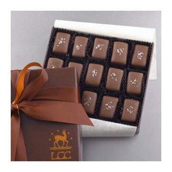Lake Champlain Milk Chocolate Sea Salt Caramels Gift Box, 15 Pieces, 5.2 Ounces