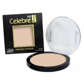 Mehron Makeup Celebre Pro-HD Pressed Powder Face & Body Makeup (.35 oz) (LIGHT 2)
