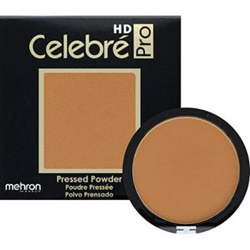 Mehron Makeup Celebre Pro-HD Pressed Powder Face & Body Makeup (.35 oz) (MEDIUM DARK 1)