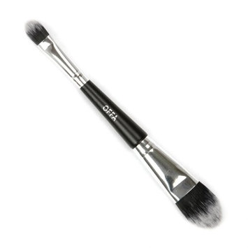 OFFA Beauty - Duet Foundation & Concealer Brush. Professional Cosmetic Makeup Brush, Cruelty Free, Vegan, Ultra Soft Finish