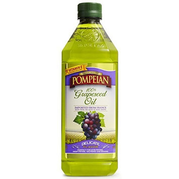 POMPEIAN Grapeseed Oil, Delicate Flavour, 24 oz